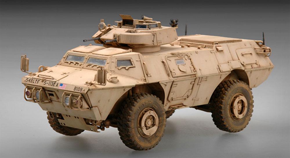 M1117 ガーディアン 装甲警備車 (ASV)プラモデル(トランペッター1/72 AFVシリーズNo.07131)商品画像_4