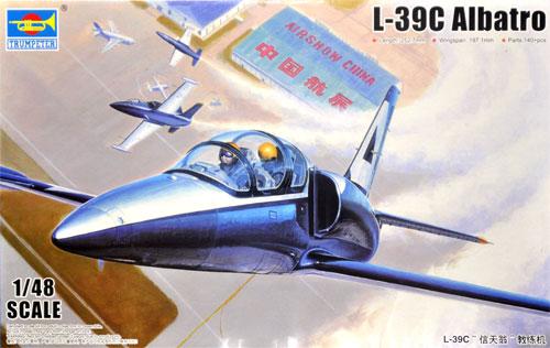L-39C アルバトロスプラモデル(トランペッター1/48 エアクラフト プラモデルNo.05804)商品画像