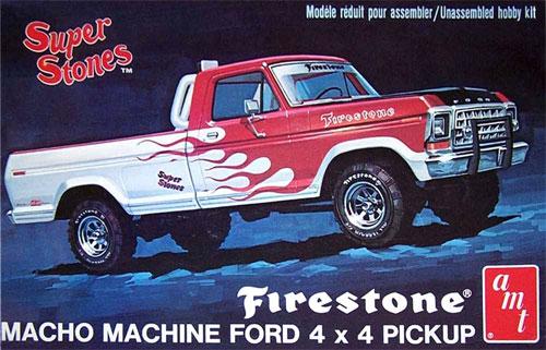 ファイアストーン スーパーストーンズ 1978 フォード 4x4 ピックアッププラモデル(amt1/25 カーモデルNo.AMT858)商品画像