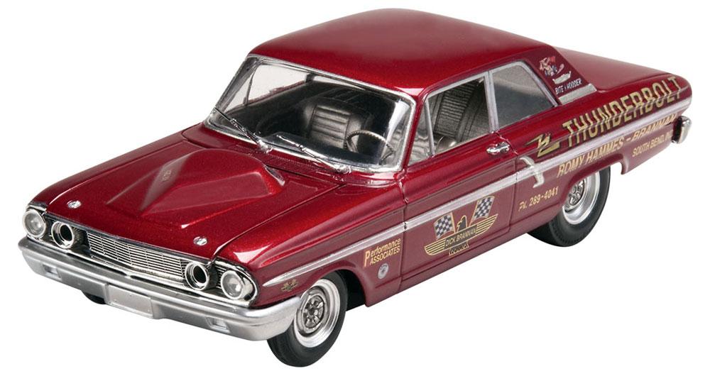 '64 フォード フェアレーン サンダーボルトプラモデル(レベルカーモデルNo.85-4408)商品画像_1