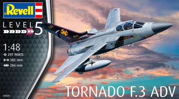 トーネード F.3 ADVプラモデル(レベル1/48 飛行機モデルNo.03925)商品画像