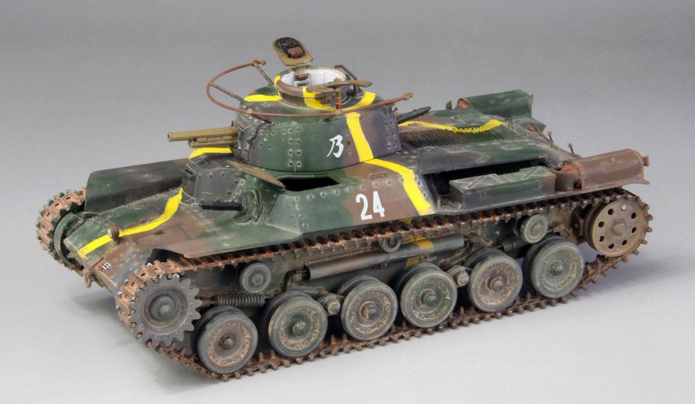 帝国陸軍 九七式中戦車 チハ 57mm砲装備 前期型車台 インテリア & 履帯付セットプラモデル(ファインモールド1/35 ミリタリーNo.35625)商品画像_2