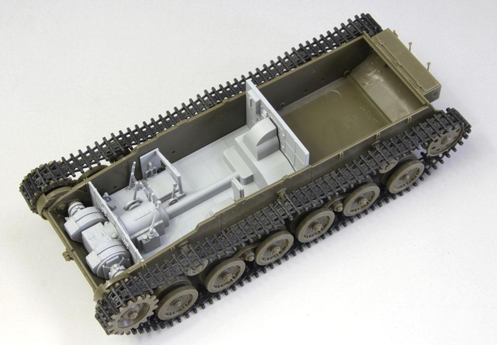 帝国陸軍 九七式中戦車 チハ 57mm砲装備 前期型車台 インテリア & 履帯付セットプラモデル(ファインモールド1/35 ミリタリーNo.35625)商品画像_3