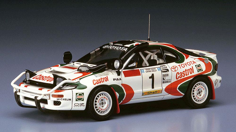 トヨタ セリカ ターボ 4WD 1993 サファリ ラリー 優勝車プラモデル(ハセガワ1/24 自動車 限定生産No.20309)商品画像_4