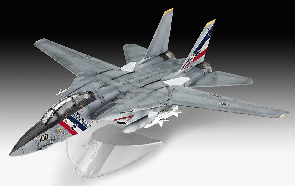 F-14D スーパートムキャットプラモデル(レベル1/100 エアクラフトNo.03950)商品画像_2