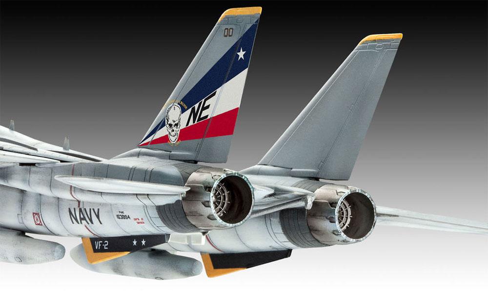 F-14D スーパートムキャットプラモデル(レベル1/100 エアクラフトNo.03950)商品画像_3