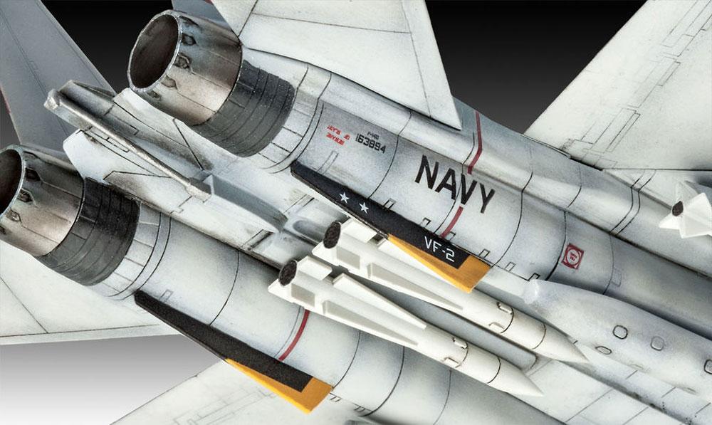 F-14D スーパートムキャットプラモデル(レベル1/100 エアクラフトNo.03950)商品画像_4