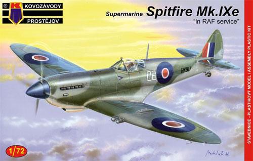 スーパーマリン スピットファイア Mk.9 RAFプラモデル(KPモデル1/72 エアクラフト プラモデルNo.KPM0083)商品画像