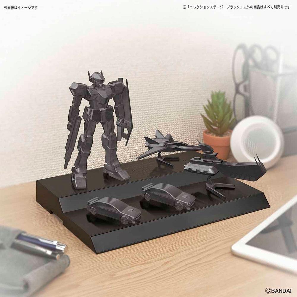 コレクションステージ ブラックディスプレイ台(バンダイコレクションステージNo.2390708)商品画像_1