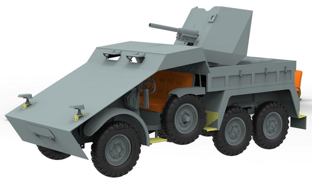 ドイツ Kfz.69 クルップ プロッツェ 3.7cm対戦車自走砲 装甲型プラモデル(ブロンコモデル1/35 AFVモデルNo.CB35132)商品画像_2