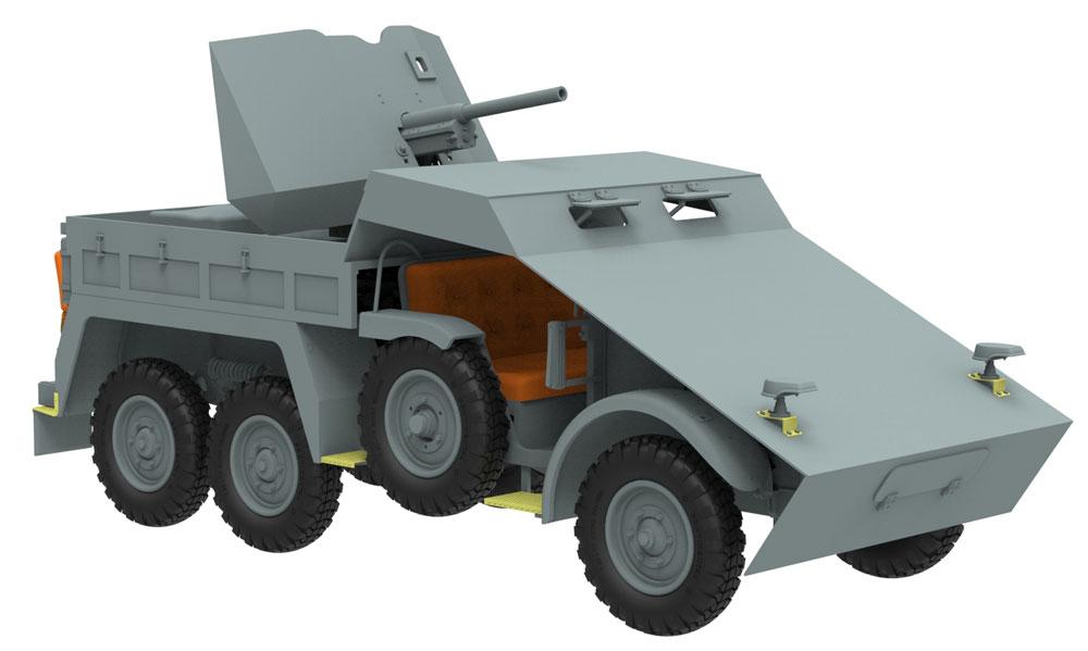 ドイツ Kfz.69 クルップ プロッツェ 3.7cm対戦車自走砲 装甲型プラモデル(ブロンコモデル1/35 AFVモデルNo.CB35132)商品画像_3