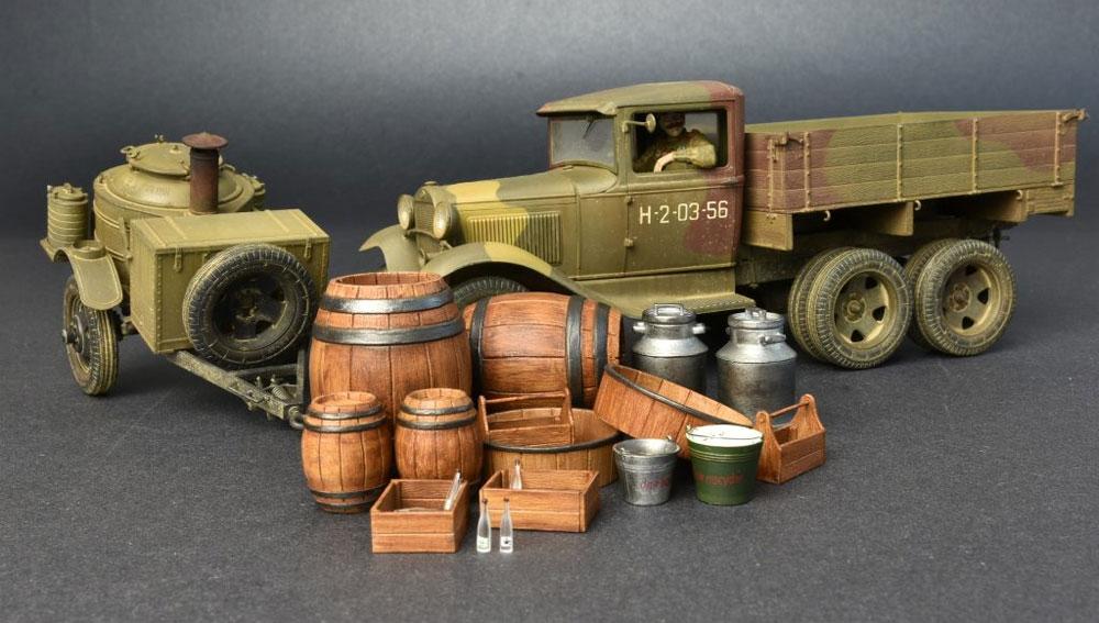 ソビエト 2トン トラック AAA型 フィールドキッチン付プラモデル(ミニアート1/35 WW2 ミリタリーミニチュアNo.35257)商品画像_2