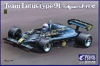 チーム ロータス Type91 ベルギーGP 1982