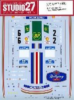 スタジオ27ラリーカー オリジナルデカールスバル レガシィ RS #2/#6 マンクスラリー 1991