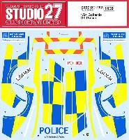 スタジオ27ツーリングカー/GTカー オリジナルデカールランボルギーニ ガヤルド 英国警察