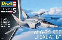 レベル1/48 飛行機モデルMiG-25 RBT フォックスバット B