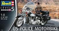 US ポリス モーターバイク