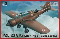 IBG1/72 エアクラフト プラモデルPZL 23A カラシュ ポーランド軽爆撃機