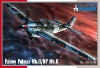 スペシャルホビー1/72 エアクラフト プラモデルフェアリー フルマー Mk.2/NF Mk.2