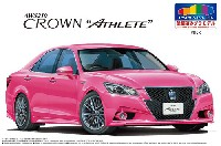 アオシマ1/24 プリペイントモデル シリーズトヨタ AWS210 クラウン アスリートG '13 (ピンク)