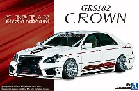 アオシマ1/24 ザ・チューンドカーK-BREAK ハイパーゼロカスタム GRS 182 クラウン '03 (トヨタ)