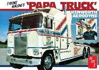 amt1/25 カーモデルタイロン マローン ケンワース エアロダイン トランスポーター パパ トラック