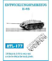 E-25 計画戦車 履帯