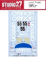 ポルシェ 962C オムロン #55 JSPC 1990 デカール