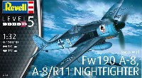 フォッケウルフ Fw190A-8/R-11 夜間戦闘機