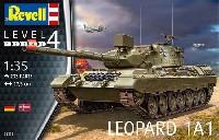 レベル1/35 ミリタリーレオパルト 1A1