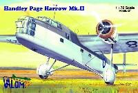 バロムモデル1/72 エアクラフト プラモデルハンドレページ ハロー Mk.2 37Sqn 第24整備中隊
