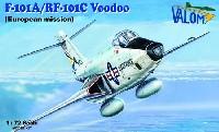 バロムモデル1/72 エアクラフト プラモデルF-101A/RF-101C ヴードゥー 欧州駐留軍