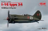 ICM1/32 エアクラフトポリカルポフ I-16 タイプ24