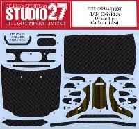 スタジオ27ツーリングカー/GTカー カーボンデカールホンダ シビック EG6 ドレスアップ カーボンデカール