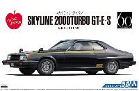 アオシマ1/24 ザ・モデルカーニッサン KHGC211 スカイライン HT 2000 ターボ GT-E・S '81