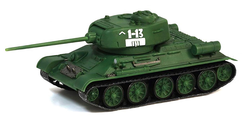 T-34/85 Mod.1944 ソビエト軍 第63護衛戦車旅団 第1大隊完成品(ドラゴン1/72 ドラゴンアーマーシリーズNo.60255)商品画像_1