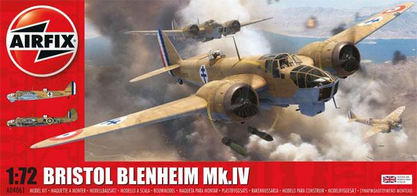 ブリストル ブレニム Mk.4プラモデル(エアフィックス1/72 ミリタリーエアクラフトNo.A04061)商品画像