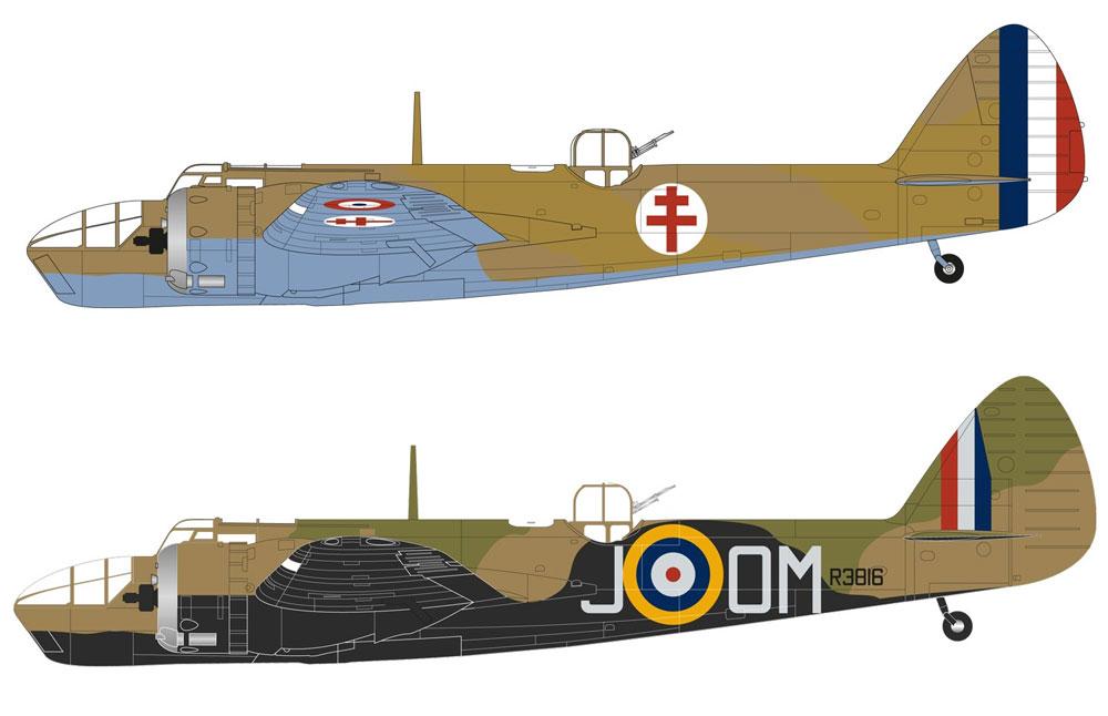 ブリストル ブレニム Mk.4プラモデル(エアフィックス1/72 ミリタリーエアクラフトNo.A04061)商品画像_1