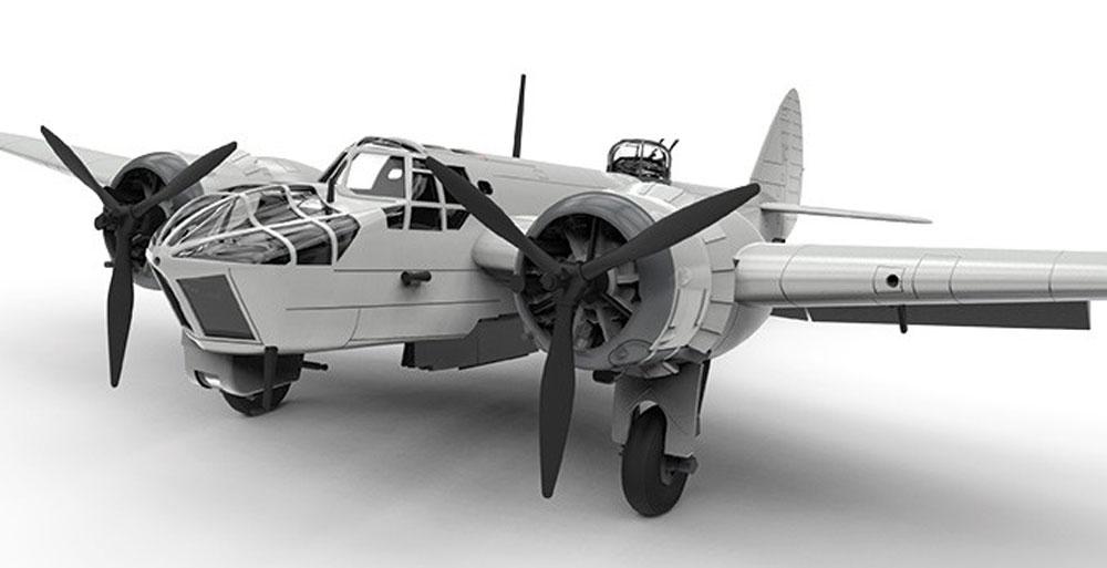 ブリストル ブレニム Mk.4プラモデル(エアフィックス1/72 ミリタリーエアクラフトNo.A04061)商品画像_3