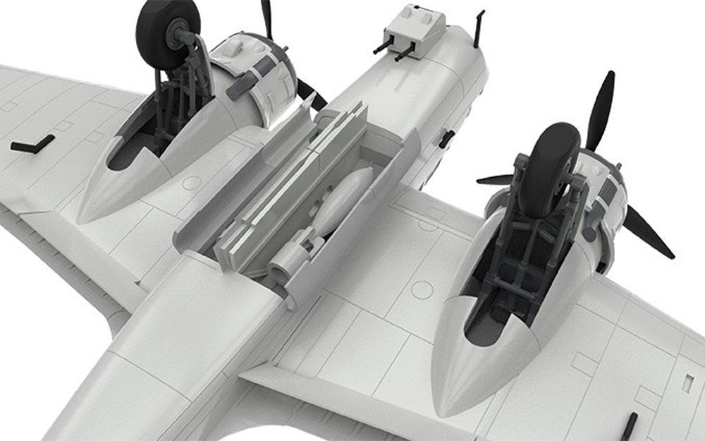 ブリストル ブレニム Mk.4プラモデル(エアフィックス1/72 ミリタリーエアクラフトNo.A04061)商品画像_4
