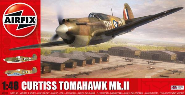 カーチス トマホーク Mk.2Bプラモデル(エアフィックス1/48 ミリタリーエアクラフトNo.A05133)商品画像