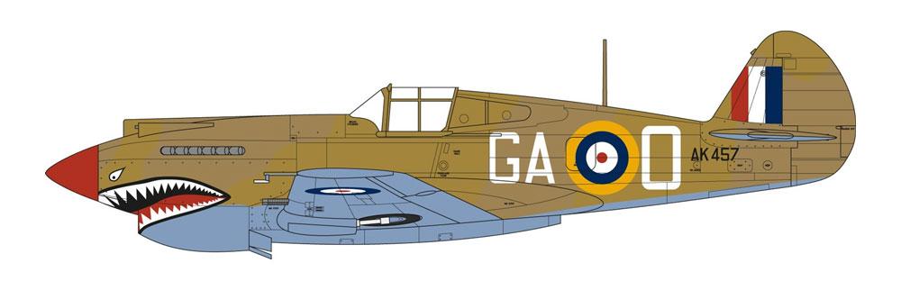 カーチス トマホーク Mk.2Bプラモデル(エアフィックス1/48 ミリタリーエアクラフトNo.A05133)商品画像_3