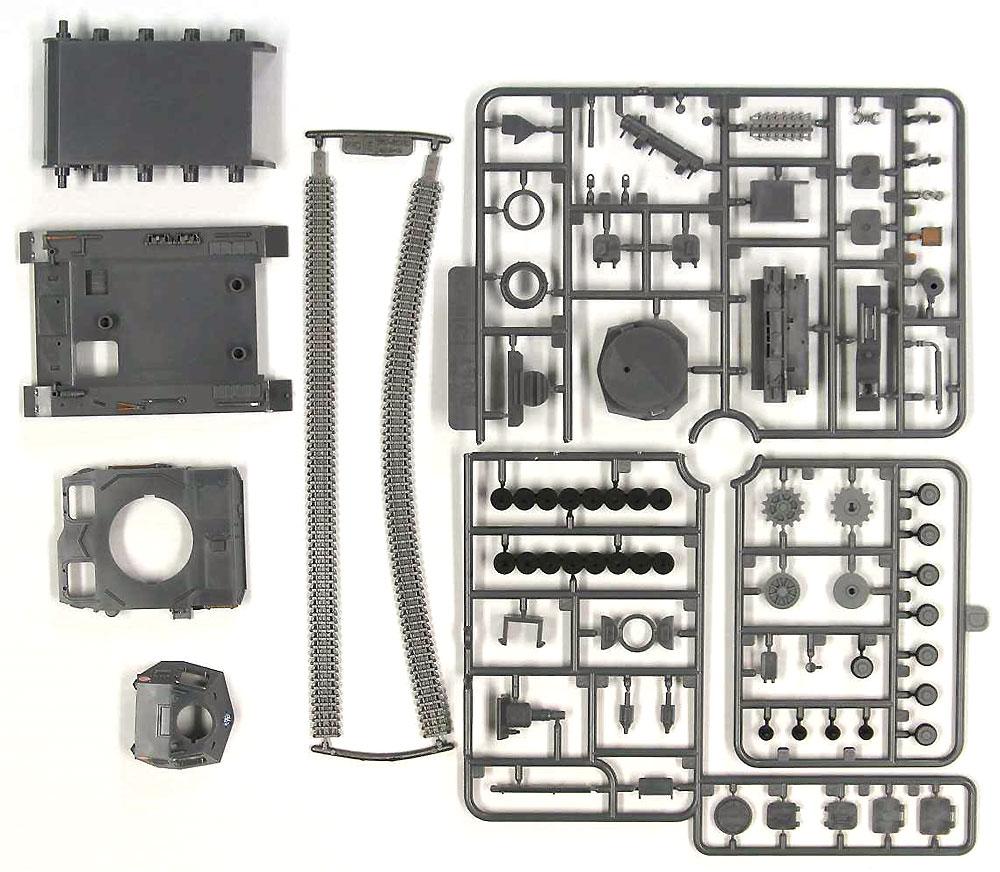 4号戦車 D型 エンディングVer.プラモデル(ピットロードガールズ&パンツァーNo.PD068)商品画像_1