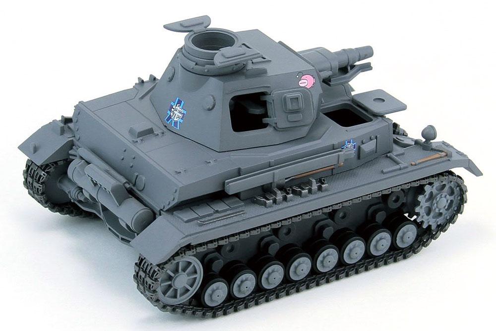 4号戦車 D型 エンディングVer.プラモデル(ピットロードガールズ&パンツァーNo.PD068)商品画像_2