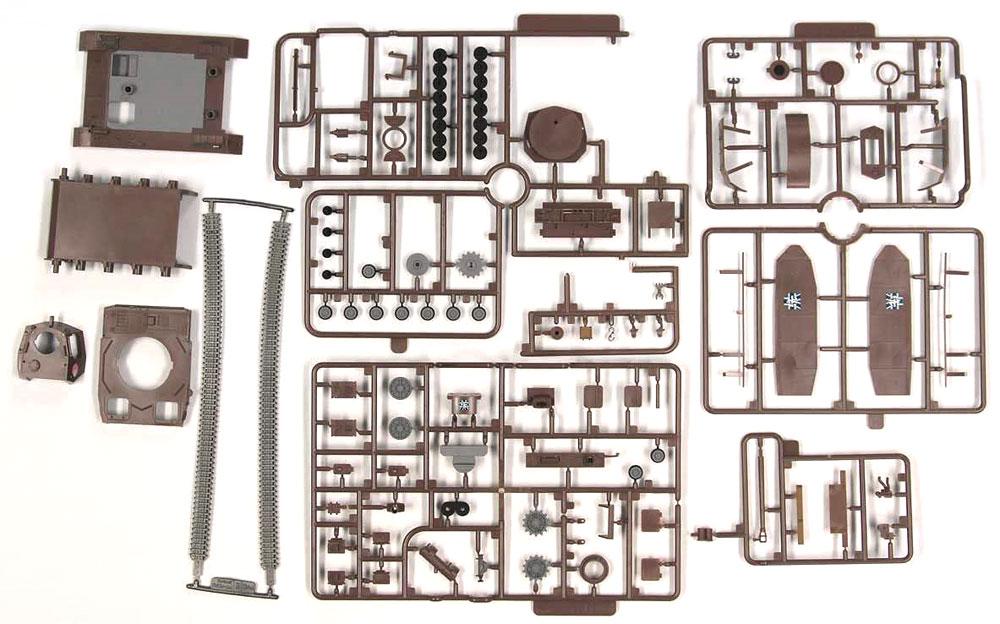 4号戦車 H型 (D型改) エンディングVer.プラモデル(ピットロードガールズ&パンツァーNo.PD069)商品画像_1