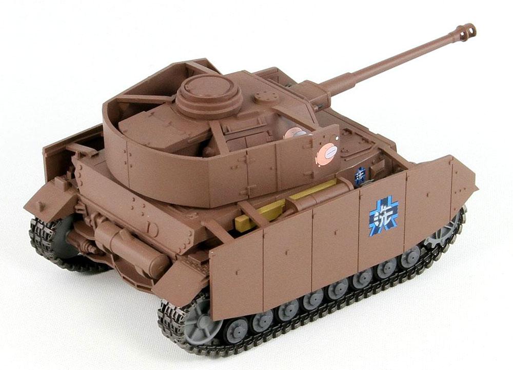 4号戦車 H型 (D型改) エンディングVer.プラモデル(ピットロードガールズ&パンツァーNo.PD069)商品画像_2