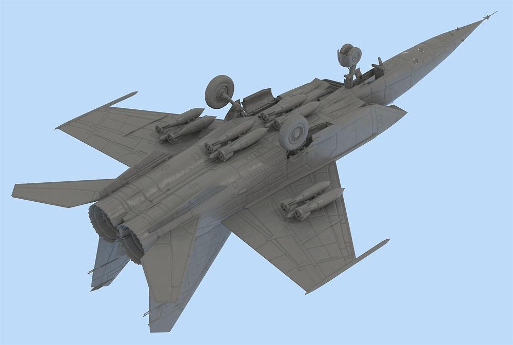 ミグ MIG-25 RBプラモデル(ICM1/48 エアクラフト プラモデルNo.48902)商品画像_3