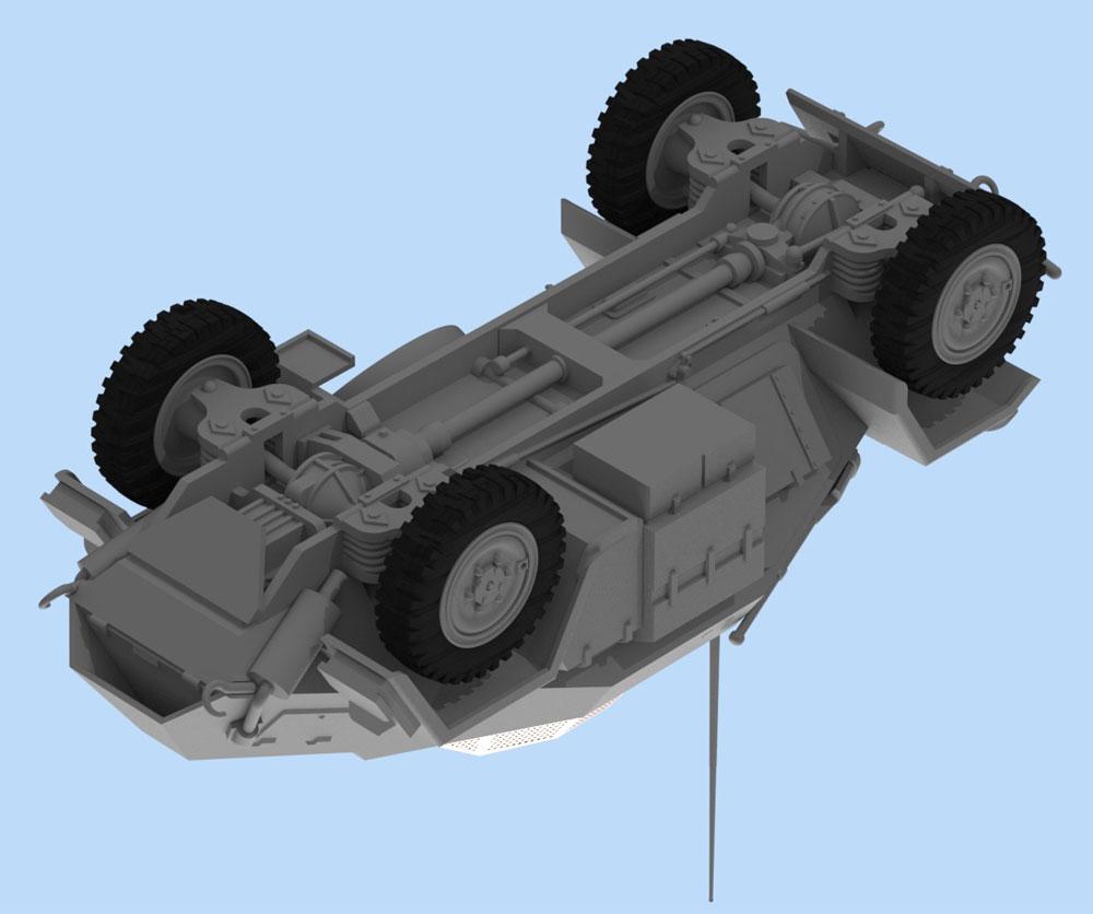 Sd.Kfz.260 ドイツ 無線装甲車プラモデル(ICM1/48 ミリタリービークルNo.48193)商品画像_4