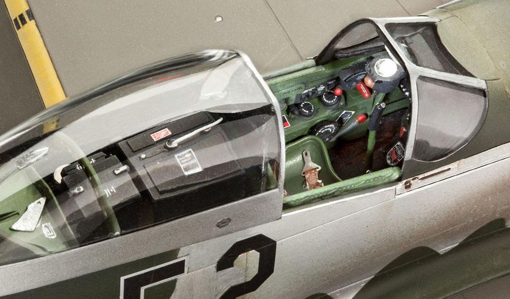P-51D-5NA ムスタング 初期型プラモデル(レベル1/32 AircraftNo.03944)商品画像_3