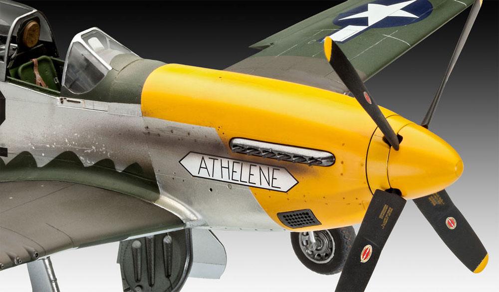 P-51D-5NA ムスタング 初期型プラモデル(レベル1/32 AircraftNo.03944)商品画像_4